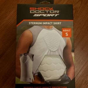Shock Doctor Sport Sternum Impact Padded Chest Shi